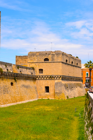 Swabian Castle, Old Town of Bari, Italy. Editorial