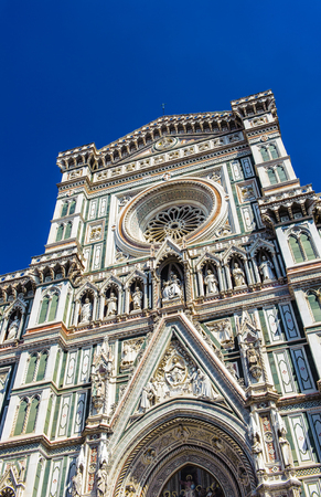 Il Duomo di Firenze (Basilica of Saint Mary of the Flower), the main church of Florence, Italy.