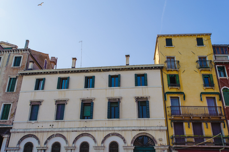 Beautiful building in Venice, Italy Banque d'images