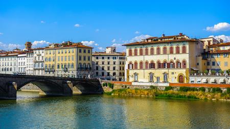 Saint trinity bridge (Ponte di Santa Trinita), Florence, Italy
