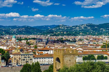 Florence, the capital city of the Italian region of Tuscany and of the province of Florence.