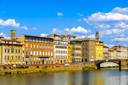 landscape of the buildings in florence italy stock photo picture