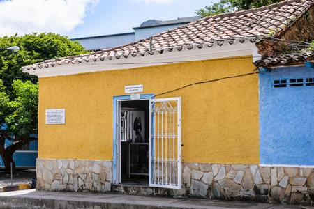 LA, ASUNCION, ISLA MARGARITA, VENEZUELA - NOV 12, 2013: Architecture of La Asuncion, Isla Margarita. Isla Margarita is the largest island in the Venezuelan state of Nueva Esparta