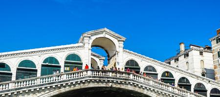 Bridge over the Grand Canal, Venice, Italy