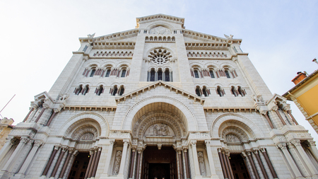 Saint Nicholas Cathedral, Monaco Cathedral. It is a church where many of Grimaldis were buried, including Grace Kelly and Rainier III