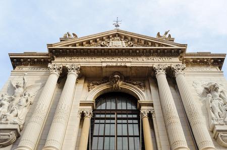 Oceanographic Museum (Musee oceanographique), a museum of marine sciences in Monaco-Ville, Monaco. Inaugurated in 1910