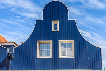 Typical house in Volendam, North Holland, Netherlands Stockfoto