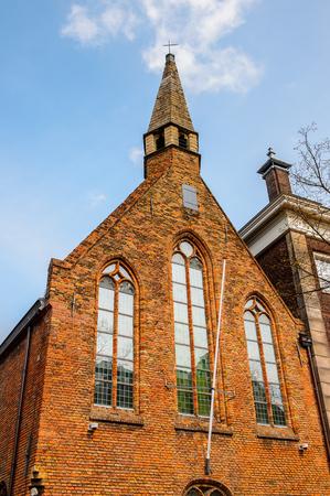 Oude Kerk, Old church, Delft, Netherlands