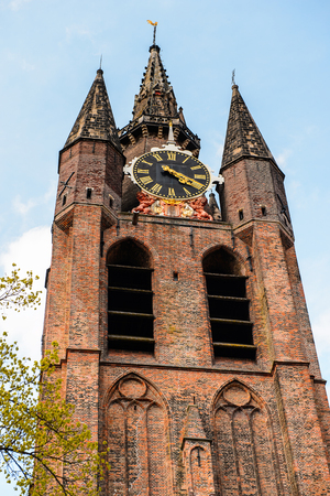 Oude Kerk, Old church, Delft, Netherlands