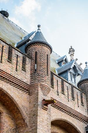 Part of The Ridderzaal in Binnenhof,The Hague,Netherlands.