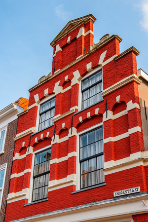 Architecture of  Delft, Netherlands Stock Photo