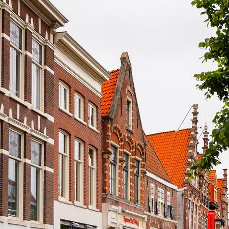 Historic center of Haarlem, Netherlands Editorial