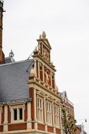 Historic center of Haarlem, Netherlands Imagens