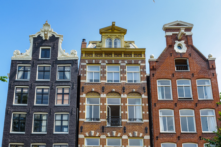 Amsterdam not direct standing house Stock Photo