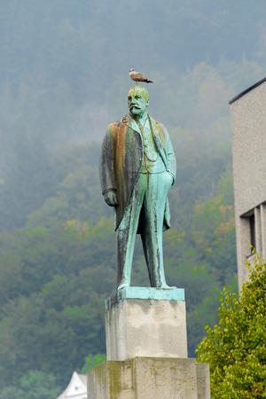 Sculpture in Bergen, Norway