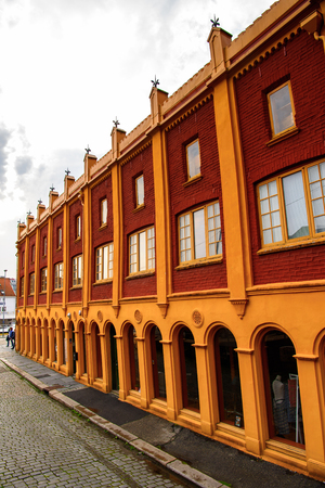 Architecture of Bergen, the second-largest city in Norway