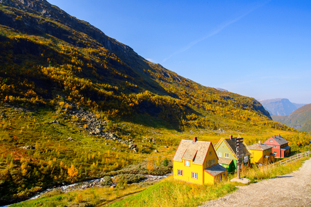 House  on the mountains of Norway