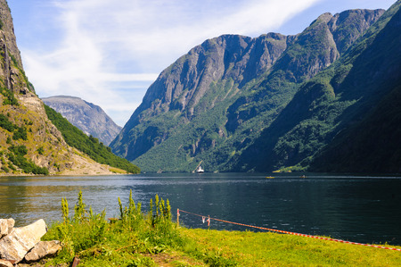 Mountain of the Sognefjord, Norway
