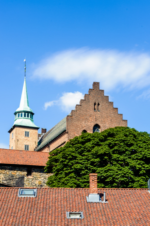 Akershus Fortress  or Akershus Castle, Oslo, the capital of Norway.