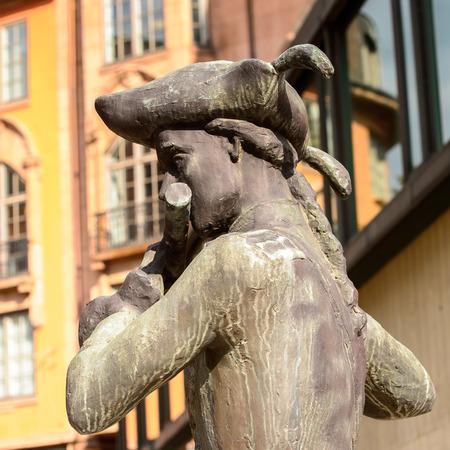 Sculpture in Oslo, Norway