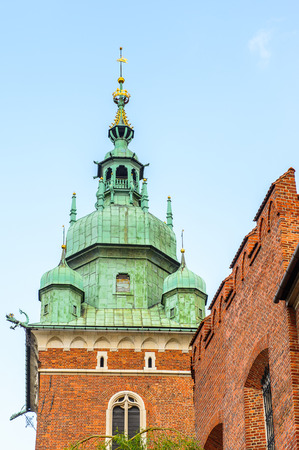 Wawel Royal Castle in Krakow, Poland Editorial