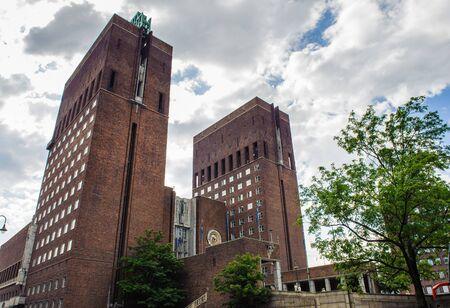 City hall of Oslo, Norway