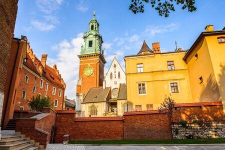 Wawel Royal Castle in Krakow, Poland Sajtókép