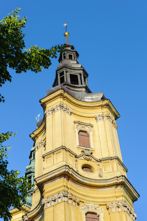 Church in Legnica, Poland Stock Photo