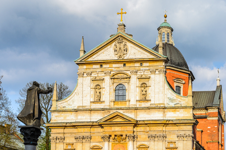 Saints Peter and Paul Church in Krakow, Poland