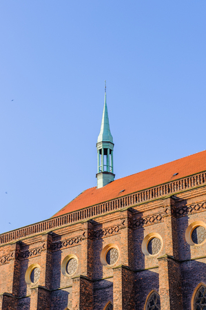 Evangelical-Augsburg Church of the Virgin Mary in  Legnica in Poland.