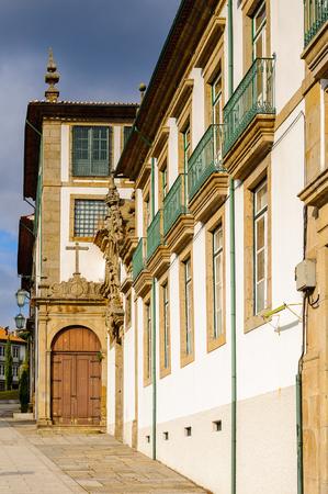 Architecture of Historic Centre of Guimaraes, Portugal.