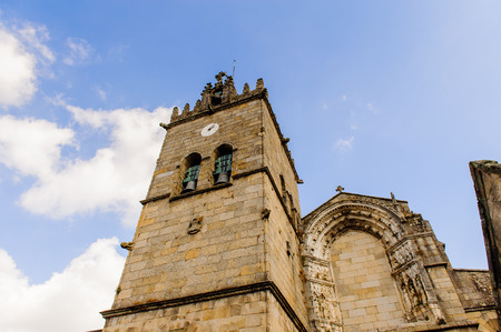 Church in Historic Centre of Guimaraes, Portugal. Stock Photo