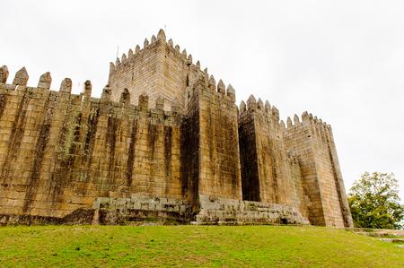 Guimaraes castle, Portugal.