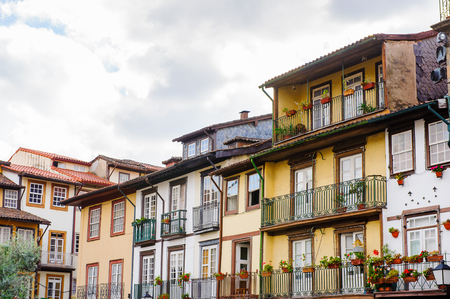 Oliveira Plaza of Historic Centre of Guimaraes, Portugal.