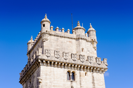 Tower of Belem. one of the Seven Wonders of Portugal Editorial