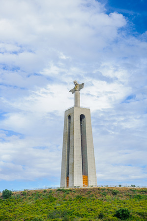 Jesus Christ statue in Lisbon, Portugal
