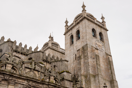 Cathedral of the Assumption of Our Lady (Porto Cathedral), one of the most important Romanesque monuments in Portugal