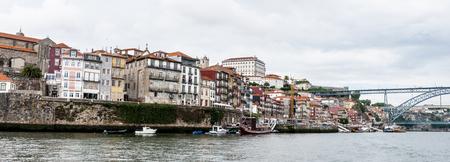 Ribeira quarter, Valley Douro, traditional sight. Stock Photo