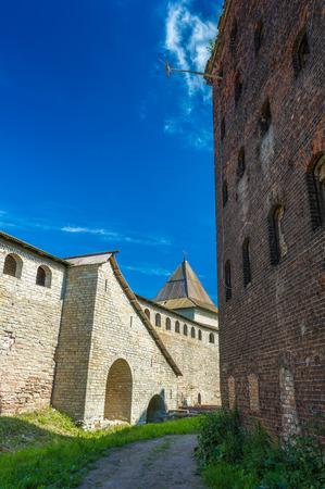Destroyed fortress Oreshek, Shlisselburg, Russian Federation