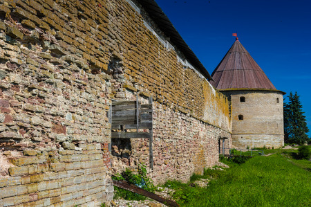 Fortification in Russia, destroyed durin the war Editorial