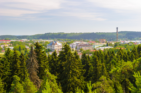 Olonets, a town and the administrative center of Olonetsky District of the Republic of Karelia, Russia, situated on the Olonka River, to the east from Lake Ladoga.