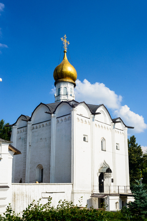 Holy Spirit Church of  Trinity Sergius Lavra in Sergiev Posad, Moscow District, Russia. UNESCO World heritage