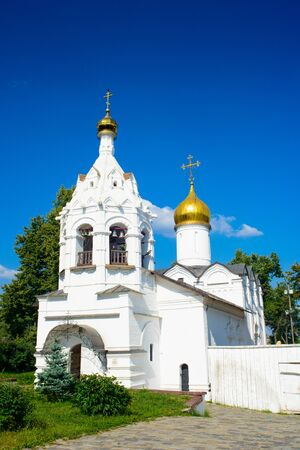 Holy Spirit Church of Trinity Sergius Lavra in Sergiev Posad, Moscow District, Russia. 版權商用圖片