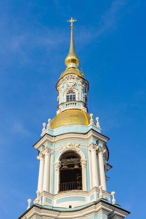 Church in Saint Petersburg, Russia Editorial