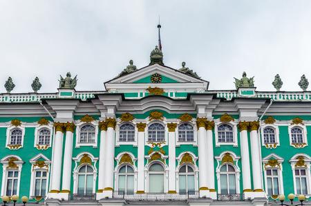 Winter Palace, Hermitage museum in Saint Petersburg, Russia Editoriali