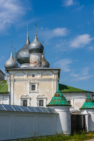 Church of Uglich, Yaroslavl region. Golden ring of Russia