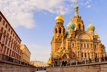 Church of the Savior on Spilled Blood and the Griboyedov channel