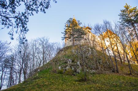 Bran Castle, Transylvania, Romania Stock Photo