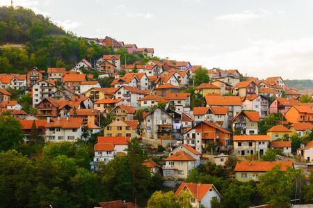 Uzice, a city in western Serbia, located at the banks of the Detinja river. It is the administrative center of the Zlatibor District.
