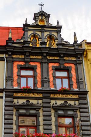 Architecture of the main street of Kosice, eastern Slovakia.